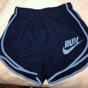 Nike Dark Blue Dri-Fit Running Shorts